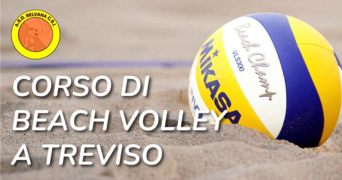 corso di beach volley a Treviso ASD Selvana CSI